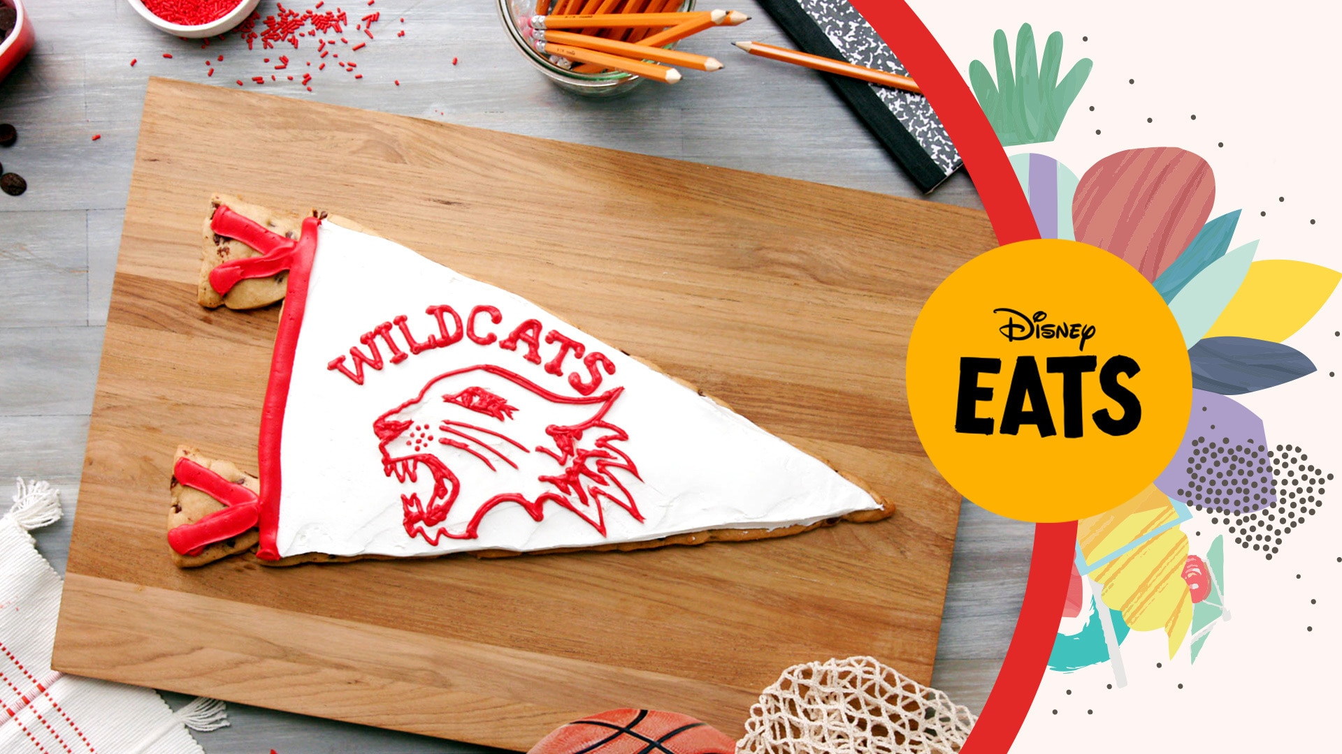Wildcats Cookie Cake | Disney Eats