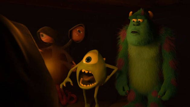 OK Initiation - Monsters University Blu-ray Clip