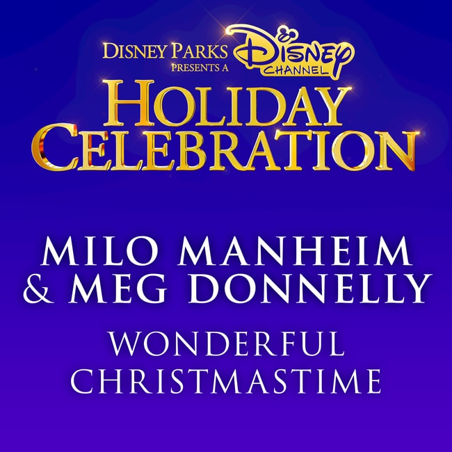 milo manheim meg donnelly wonderful christmastime - Wonderful Christmas Time
