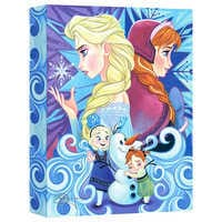 Image of Frozen ''We Only Have Each Other'' Giclée on Canvas by Tim Rogerson # 1