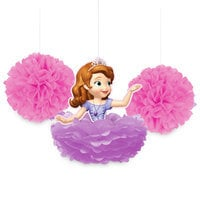 Sofia the First Fluffy Decorations