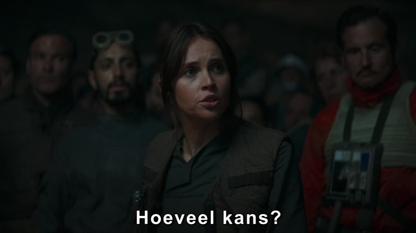 "Rogue One: A Star Wars Story - Clip: ""Jyn Rallies The Rebel Alliance"""