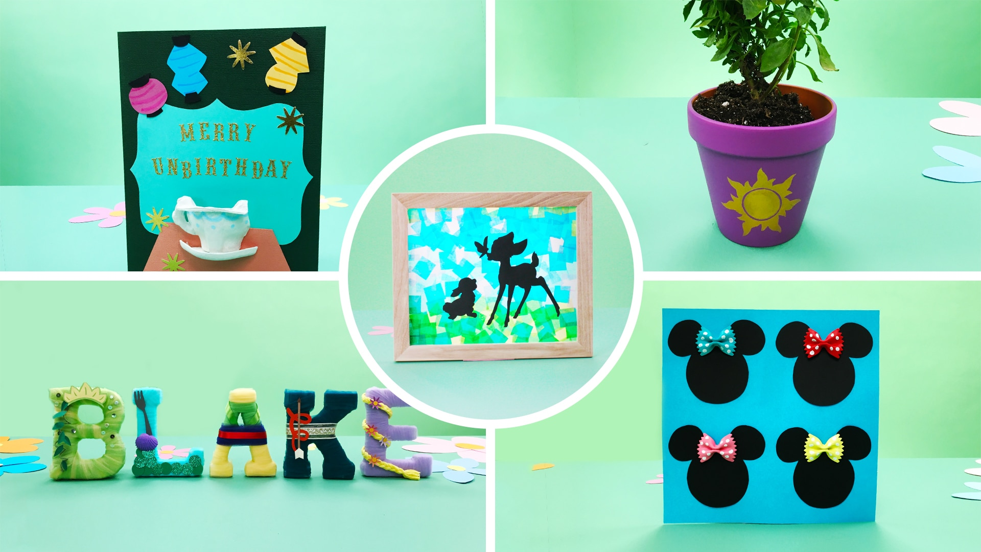5 Disney Crafts for Kids for Spring | Disney DIY by Disney Family