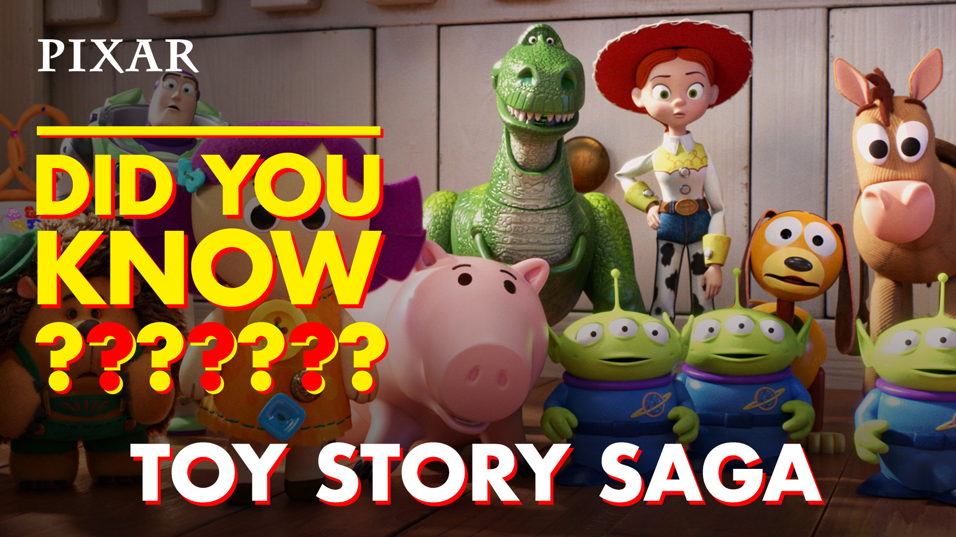 Toy Story Saga Fun Facts | Pixar Did You Know?