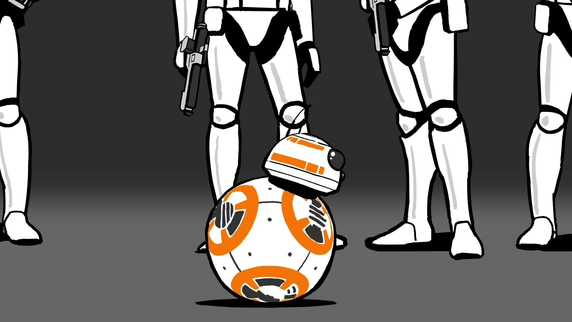 Star Wars : La Pause BB-8 - La course-poursuite