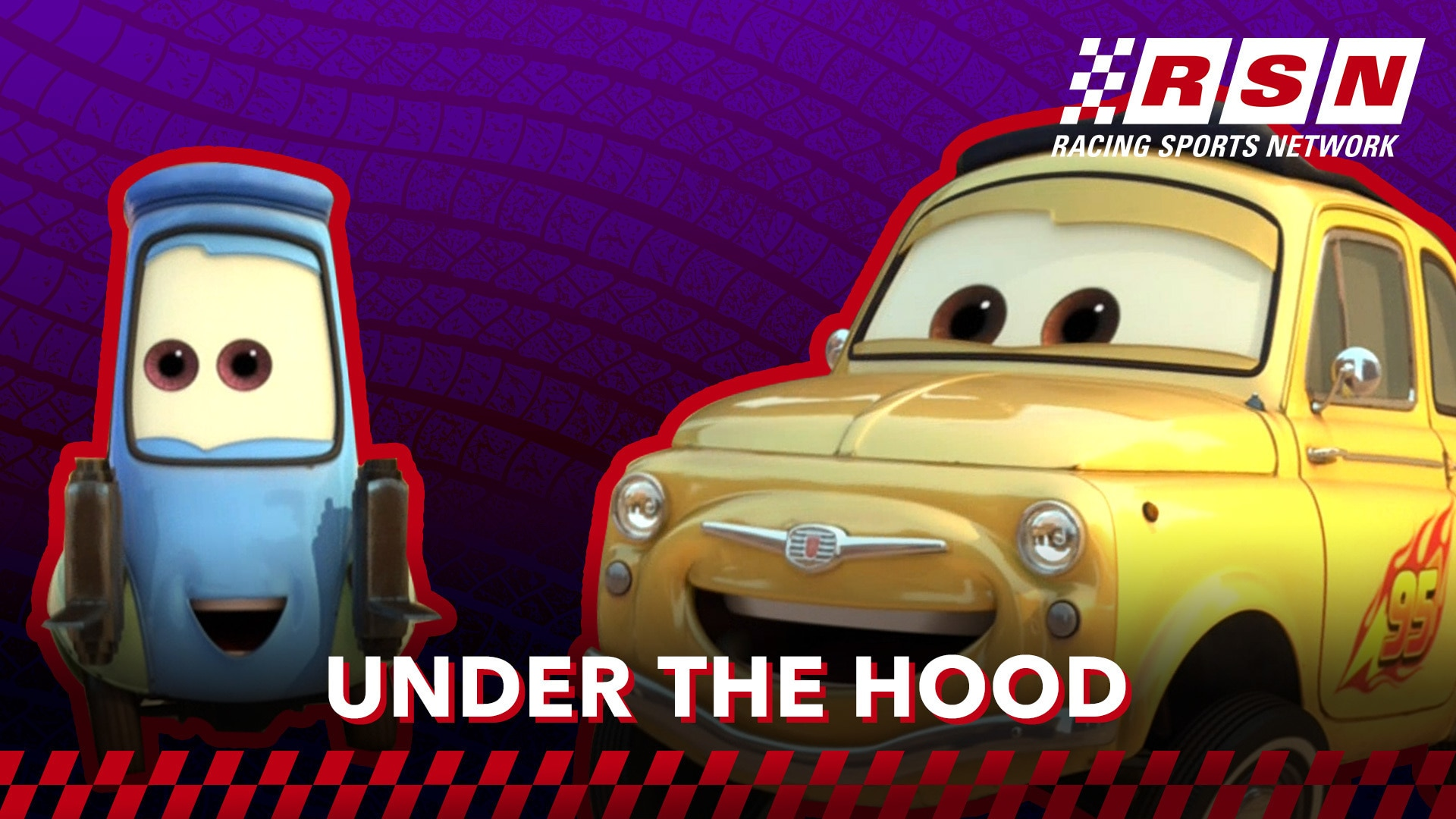 Under the Hood: Guido & Luigi | Racing Sports Network by Disney•Pixar Cars