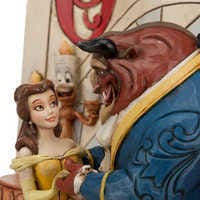 Image of Beauty and the Beast Story Book Figurine by Jim Shore # 6