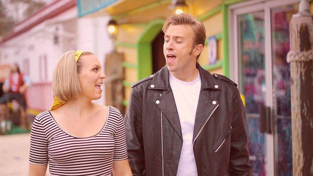 Peter Hollens feat. Evynne Hollens Cover - Disney Teen Beach Medley