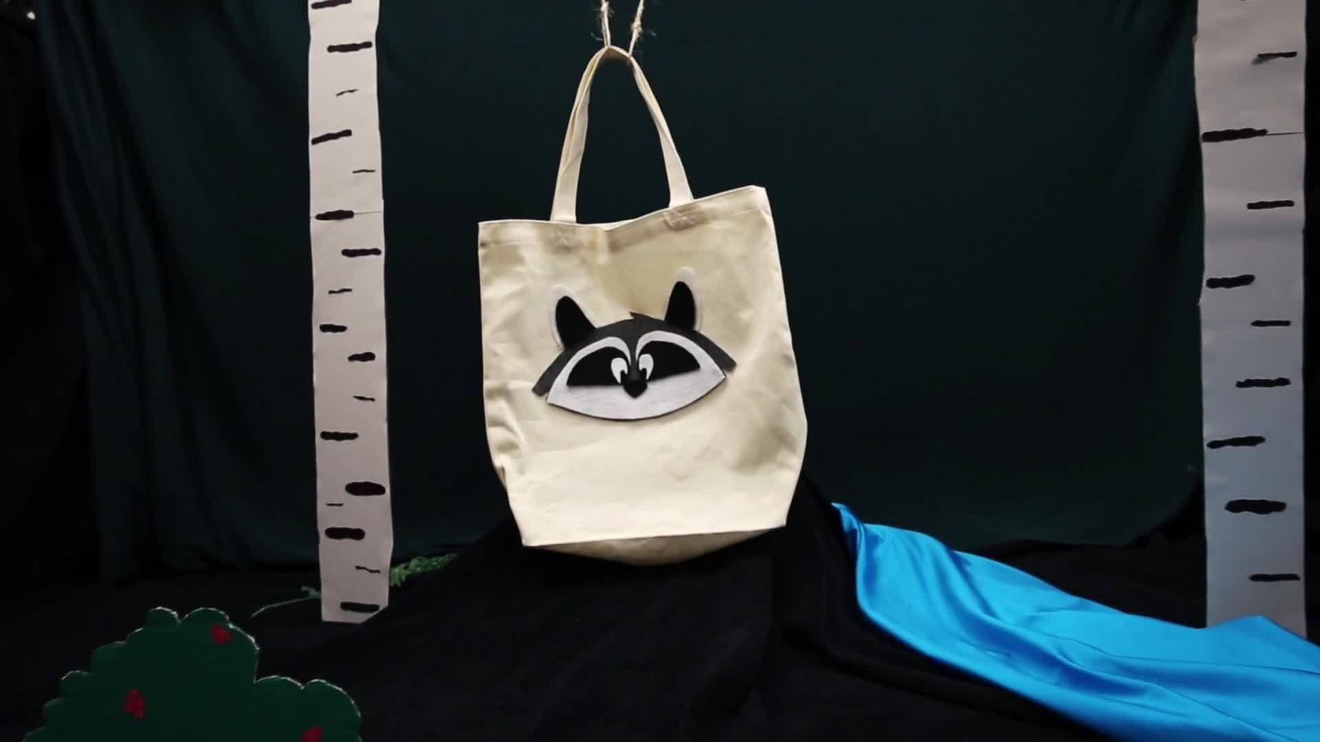 Meeko Tote Bag | Disney DIY