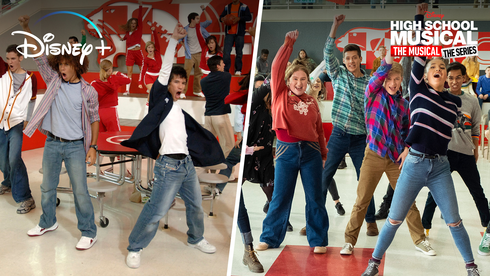 High School Musical Vs. High School Musical: The Musical: The Series Side By Side | Disney+ | Now Streaming