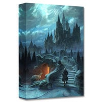 ''Castle Exterior Approach'' Limited Edition Giclée - Beauty and the Beast - Live Action Film