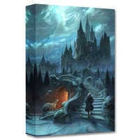 Image of ''Castle Exterior Approach'' Limited Edition Giclée - Beauty and the Beast - Live Action Film # 1