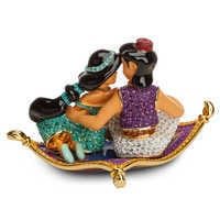 Image of Aladdin and Jasmine Figurine by Arribas # 4