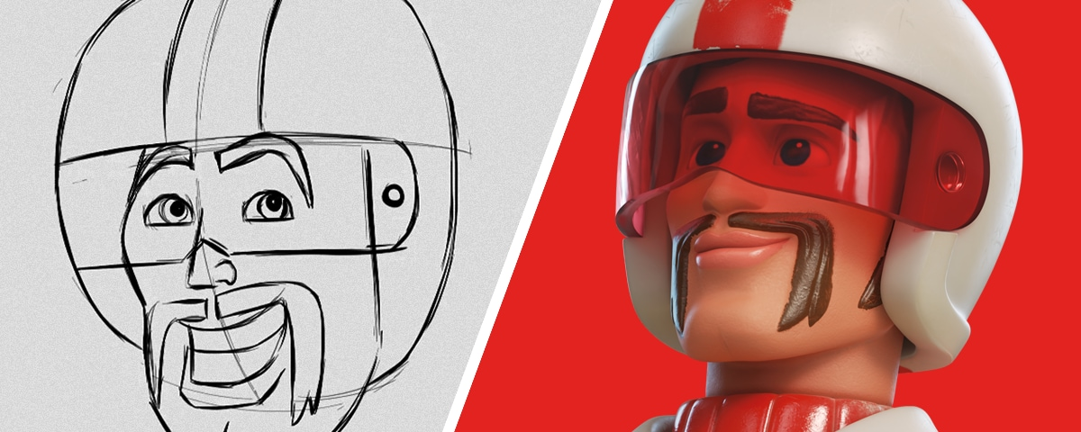 Oh Yeah! Learn to Draw Toy Story 4's Duke Caboom!
