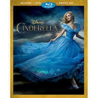 Image of Cinderella Blu-ray Combo Pack - Live Action Film # 1