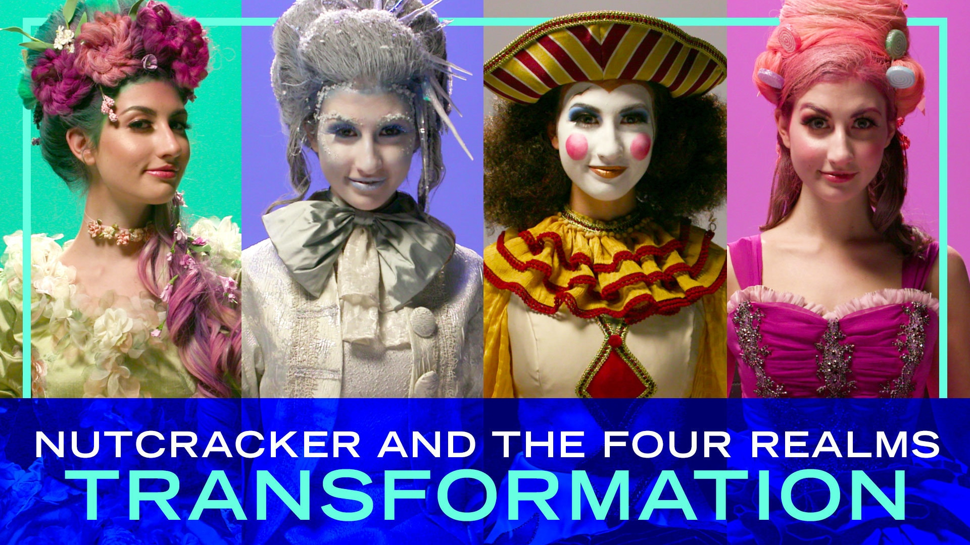 Disney's The Nutcracker and the Four Realms Transformation Time-Lapse | Beauty by Disney Style