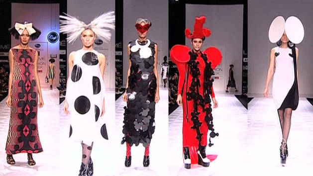 Minnie Mouse Inspired Fashion At Mumbai Fashion Week
