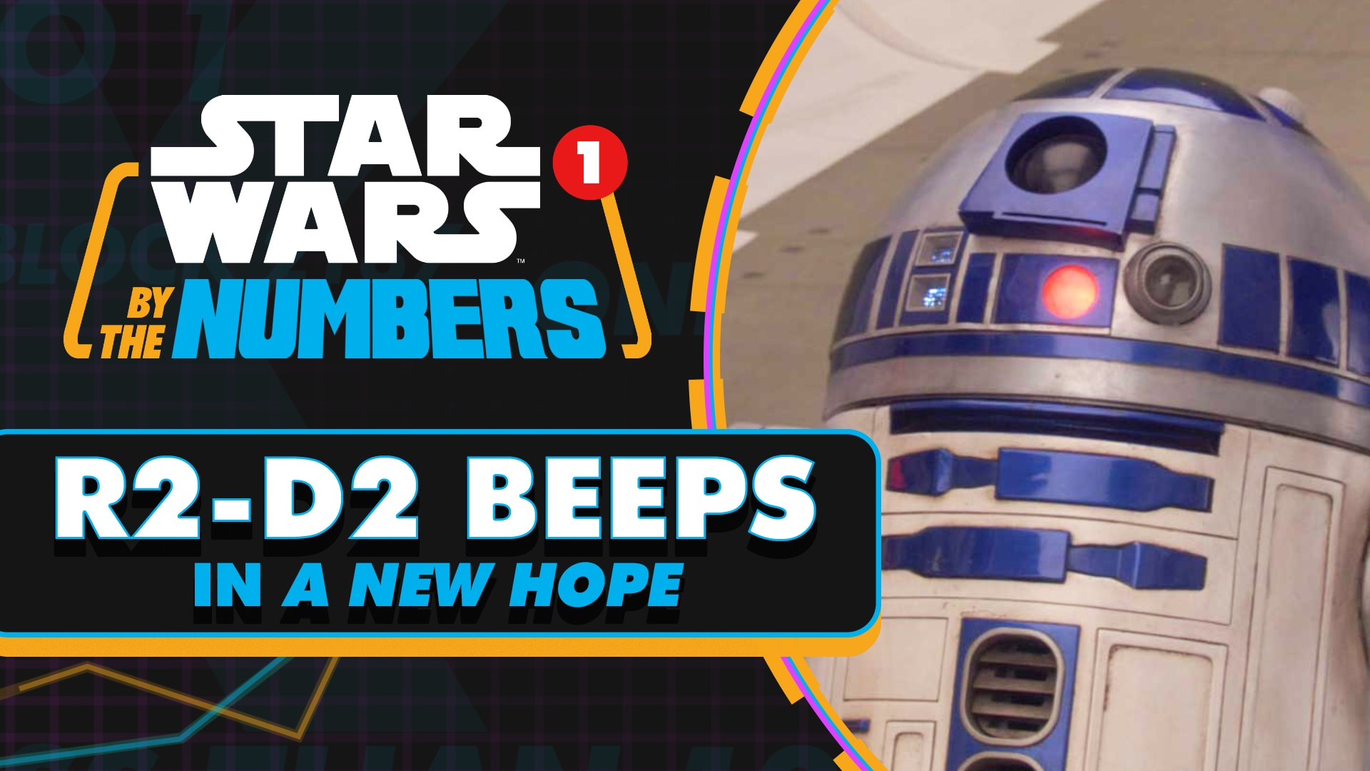 "Every ""R2-D2"" Beep in Star Wars: A New Hope 