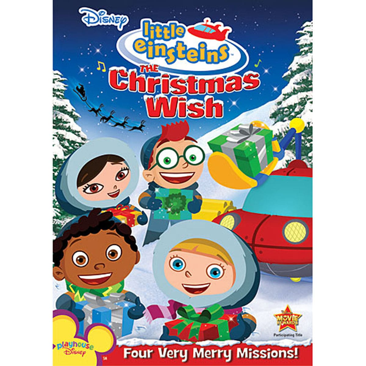 product image of little einsteins the christmas wish dvd 1