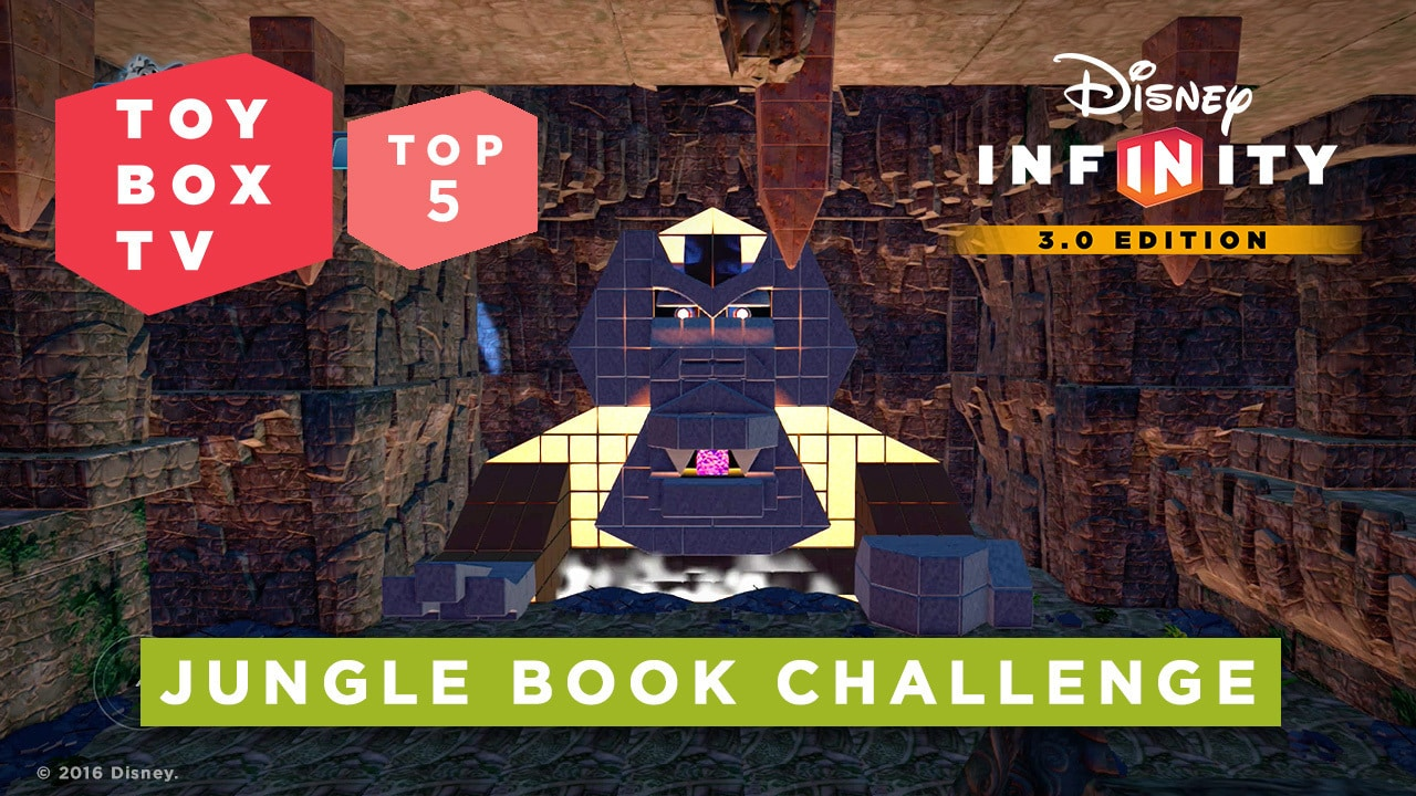 Jungle Book Challenge - Top 5 Toy Boxes - Disney Infinity Toy Box TV