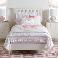 Image of Minnie Mouse Really Ruffle Quilt by Ethan Allen # 2