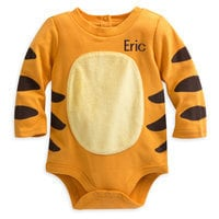 Tigger Disney Cuddly Bodysuit Costume for Baby - Personalizable