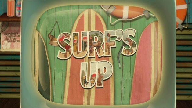 "Lyric Video: ""Surf's Up"""