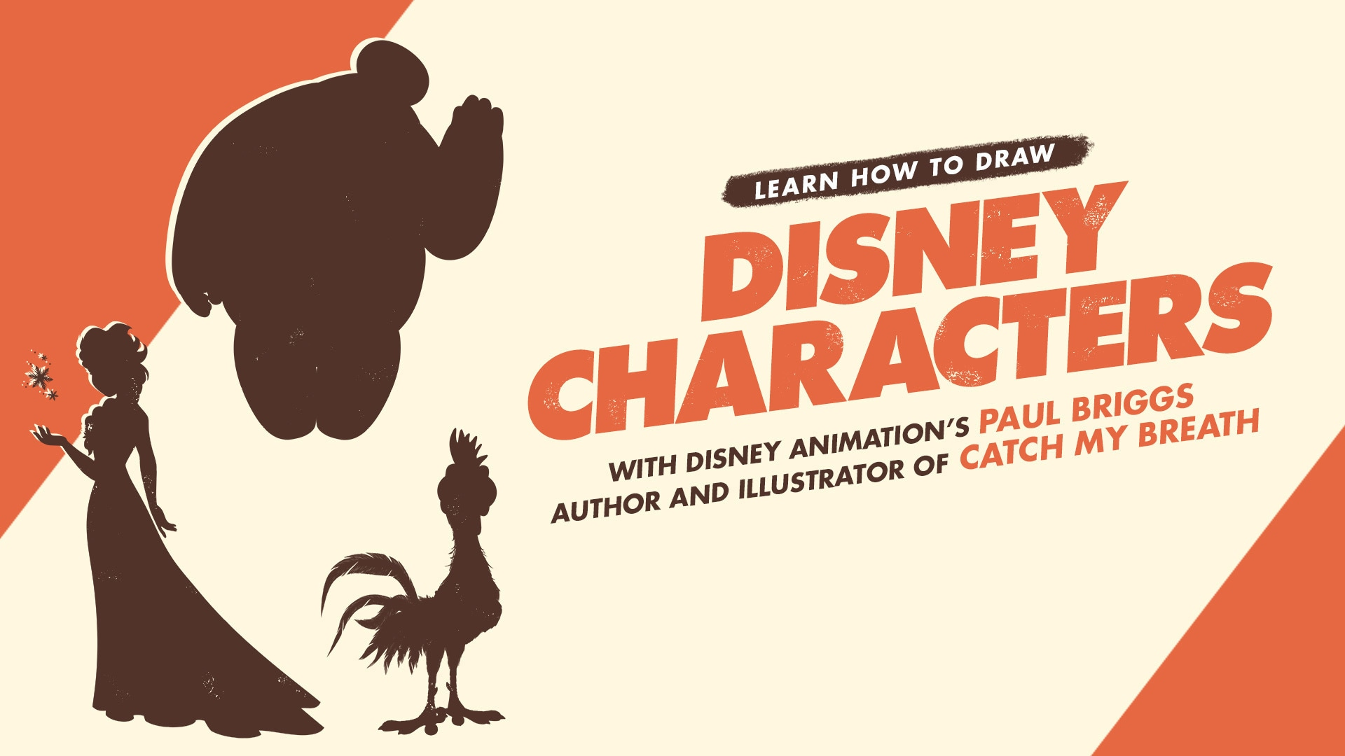 How to Draw Elsa & Baymax with Disney Animation's Paul Briggs