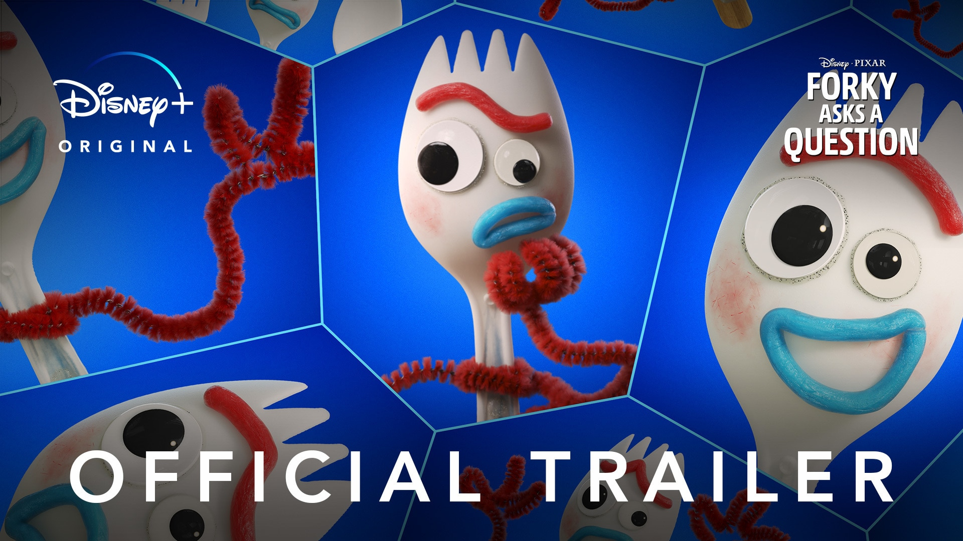 Pixar Forky Asks A Question – Official Trailer | Disney+ | Start Streaming Nov. 12