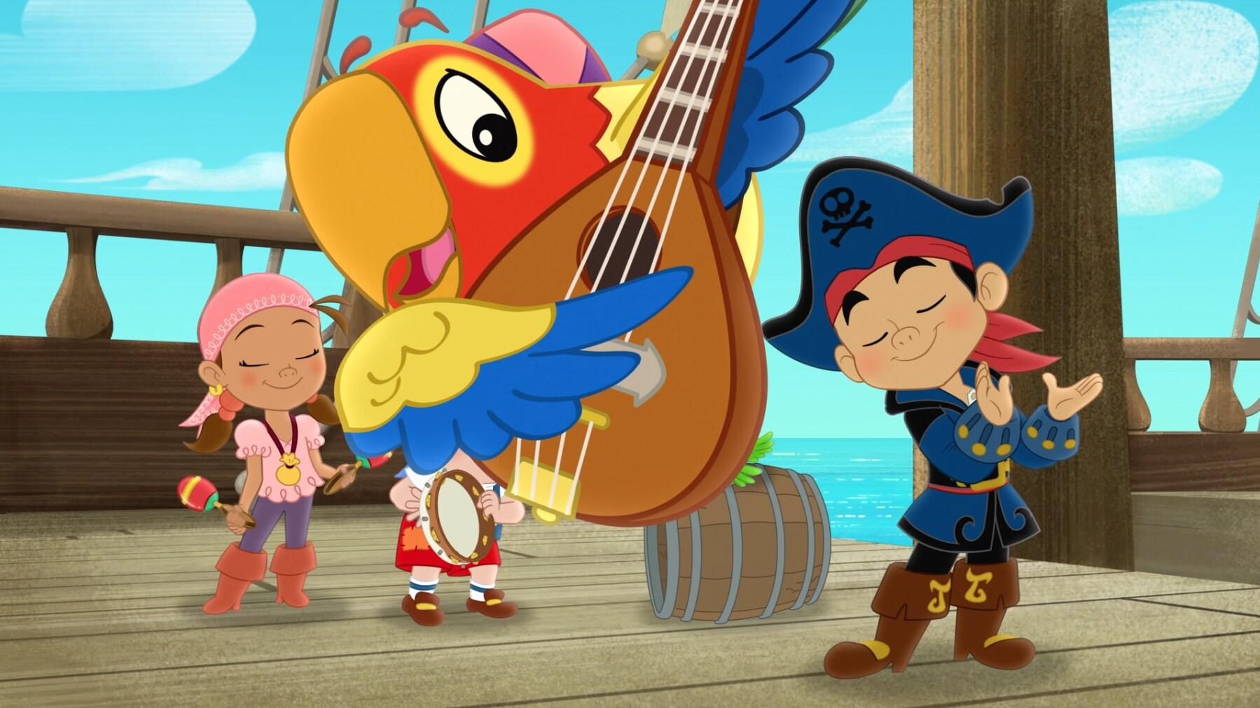 Capitão Jake e os Piratas da Terra do Nunca - Músicas