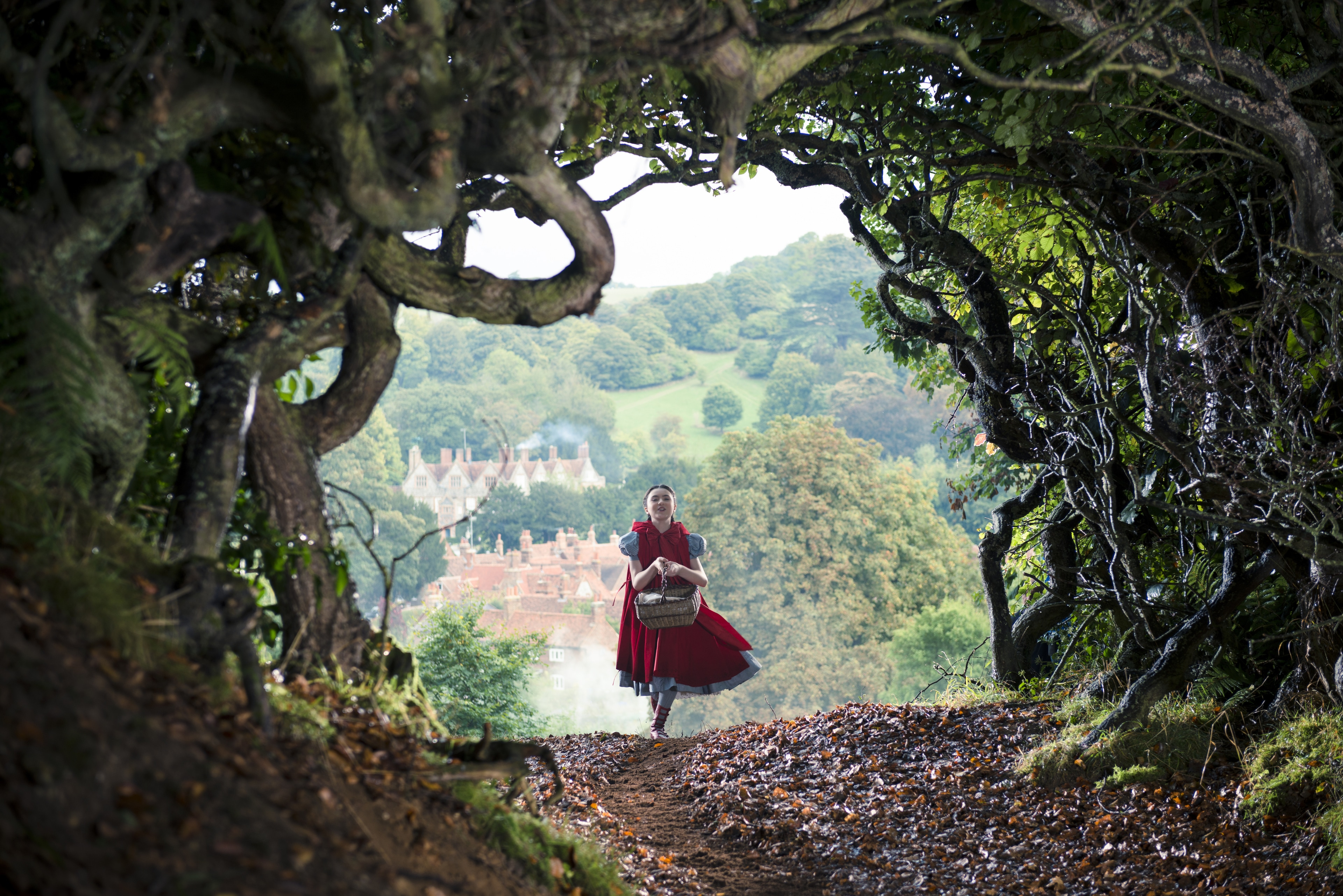 """Broadway's Lilla Crawford stars as Little Red Riding Hood in """"Into the Woods"""""""