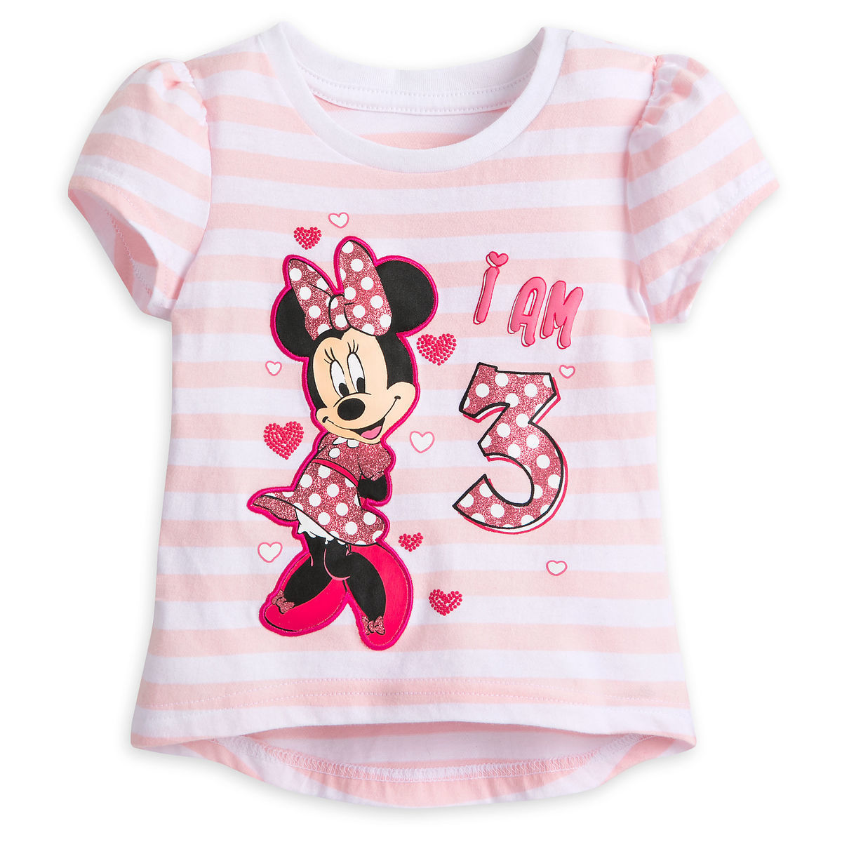 cf5b6feb Product Image of Minnie Mouse ''I Am 3'' Birthday Tee for Girls