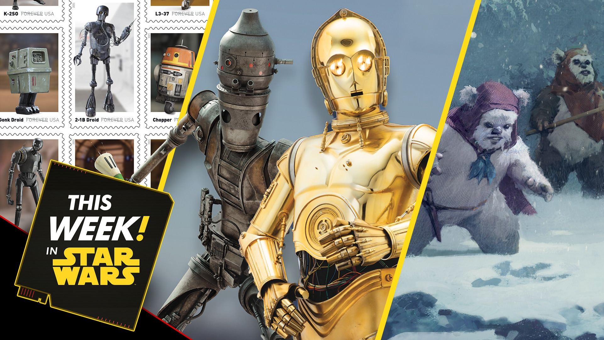 Droids Join USPS, An Exclusive Look at Life Day Art, and More!