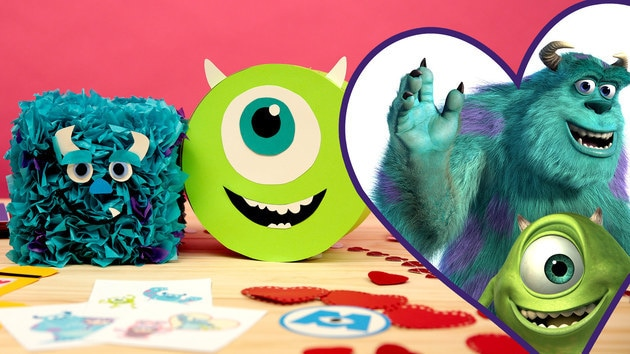 Disney Family: Monsters, Inc. Valentine's Day Mailboxes