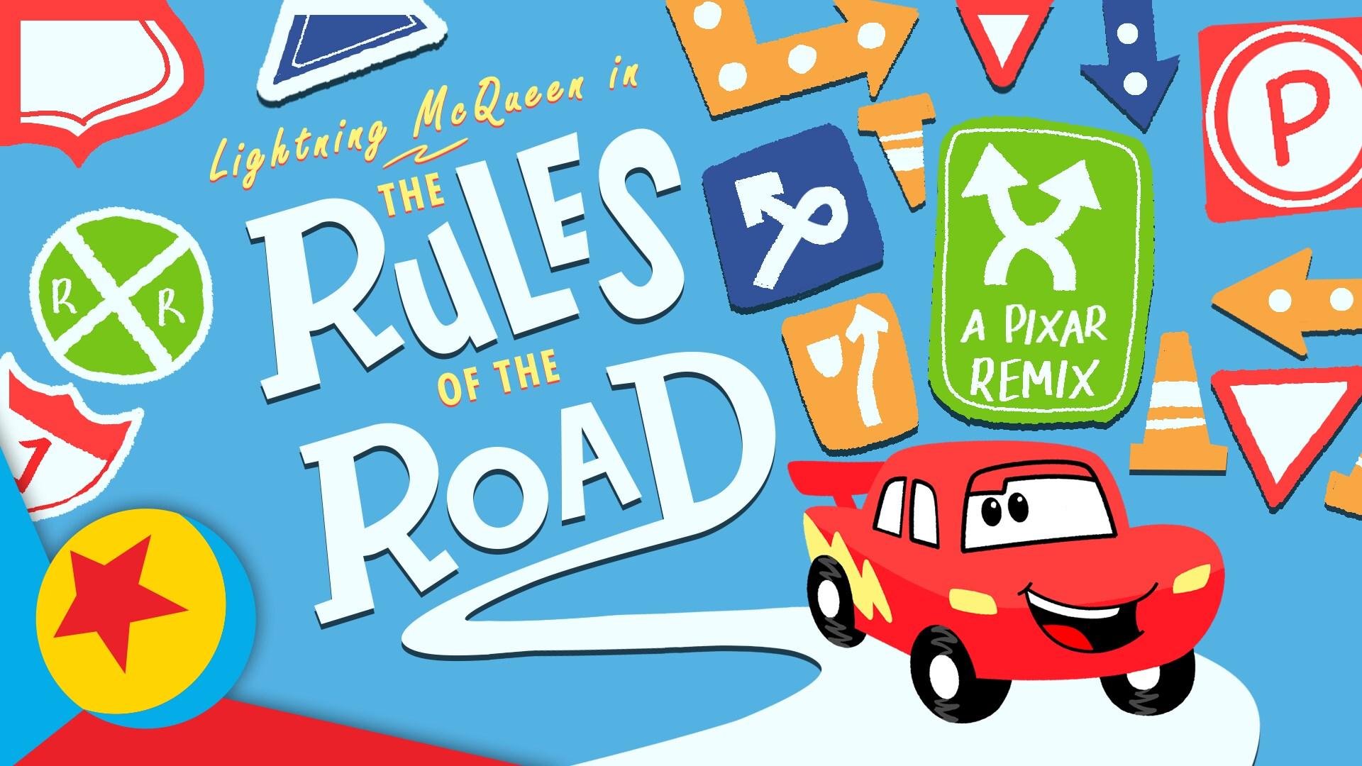 "Pixar Remix: Cars ""Rules of the Road"" | Pixar"