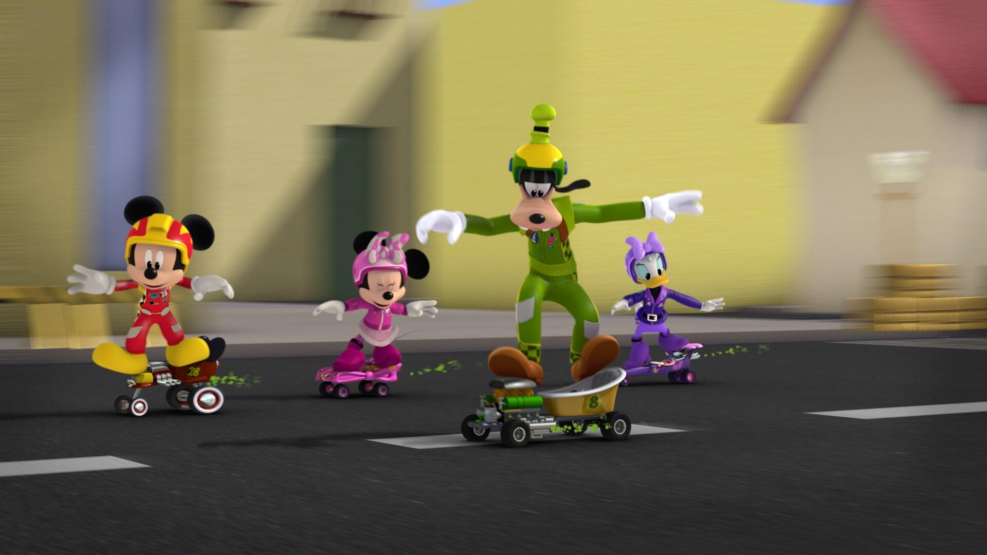 El combustible de Goofy - Mickey: Aventuras sobre ruedas