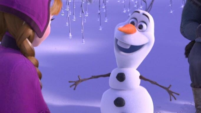 Olaf se směje - Jak si házet s kamarády
