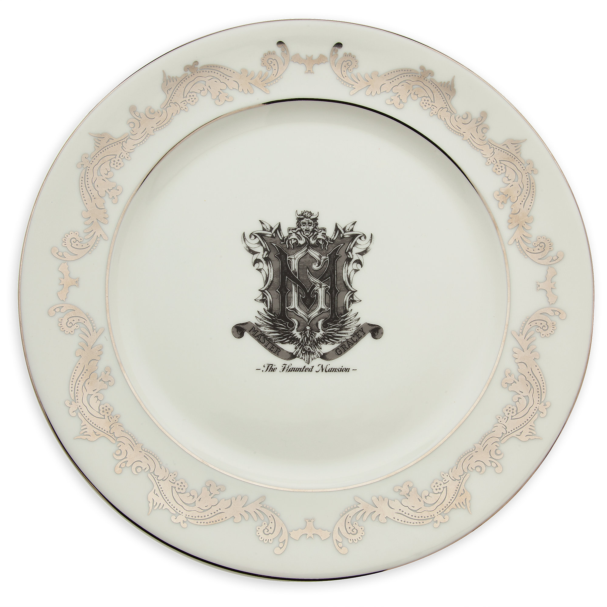 Product Image of The Haunted Mansion Porcelain Dinner Plate # 1  sc 1 st  shopDisney & The Haunted Mansion Porcelain Dinner Plate | shopDisney