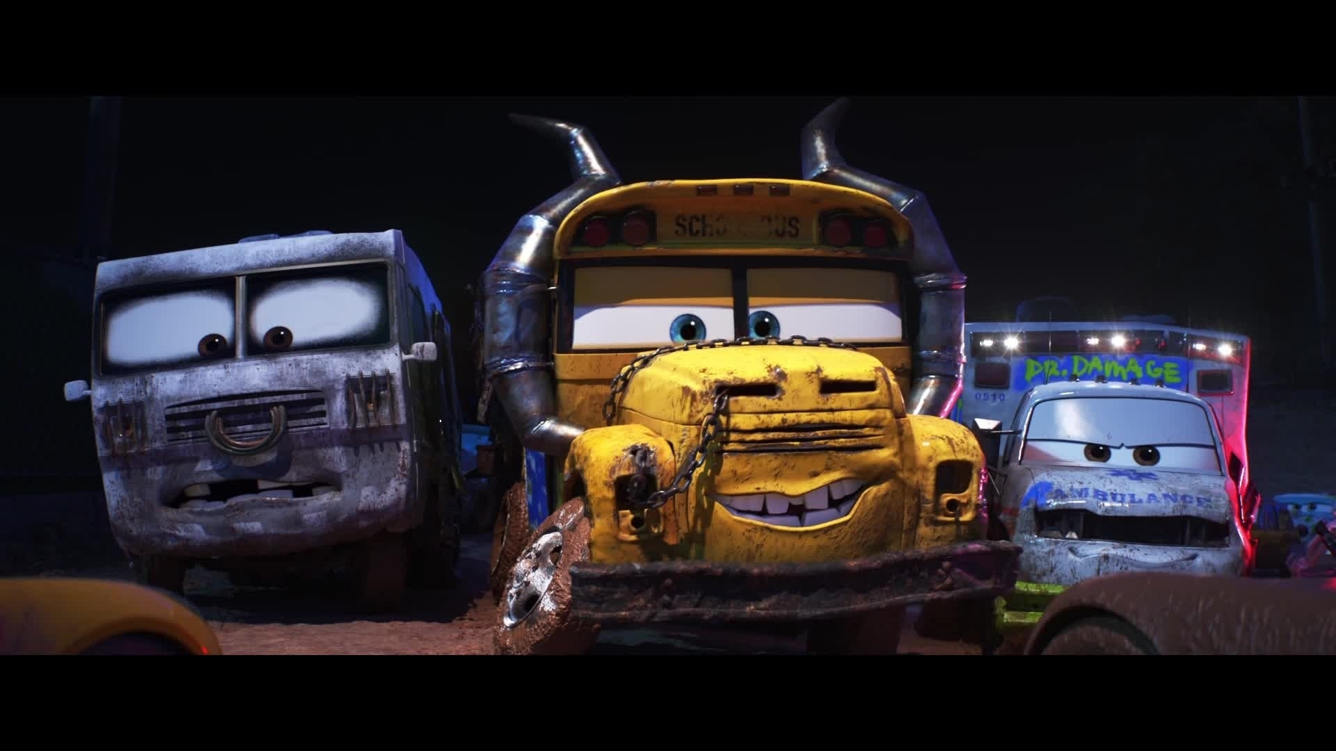 Cars 3 - Extrait : Miss Fritter