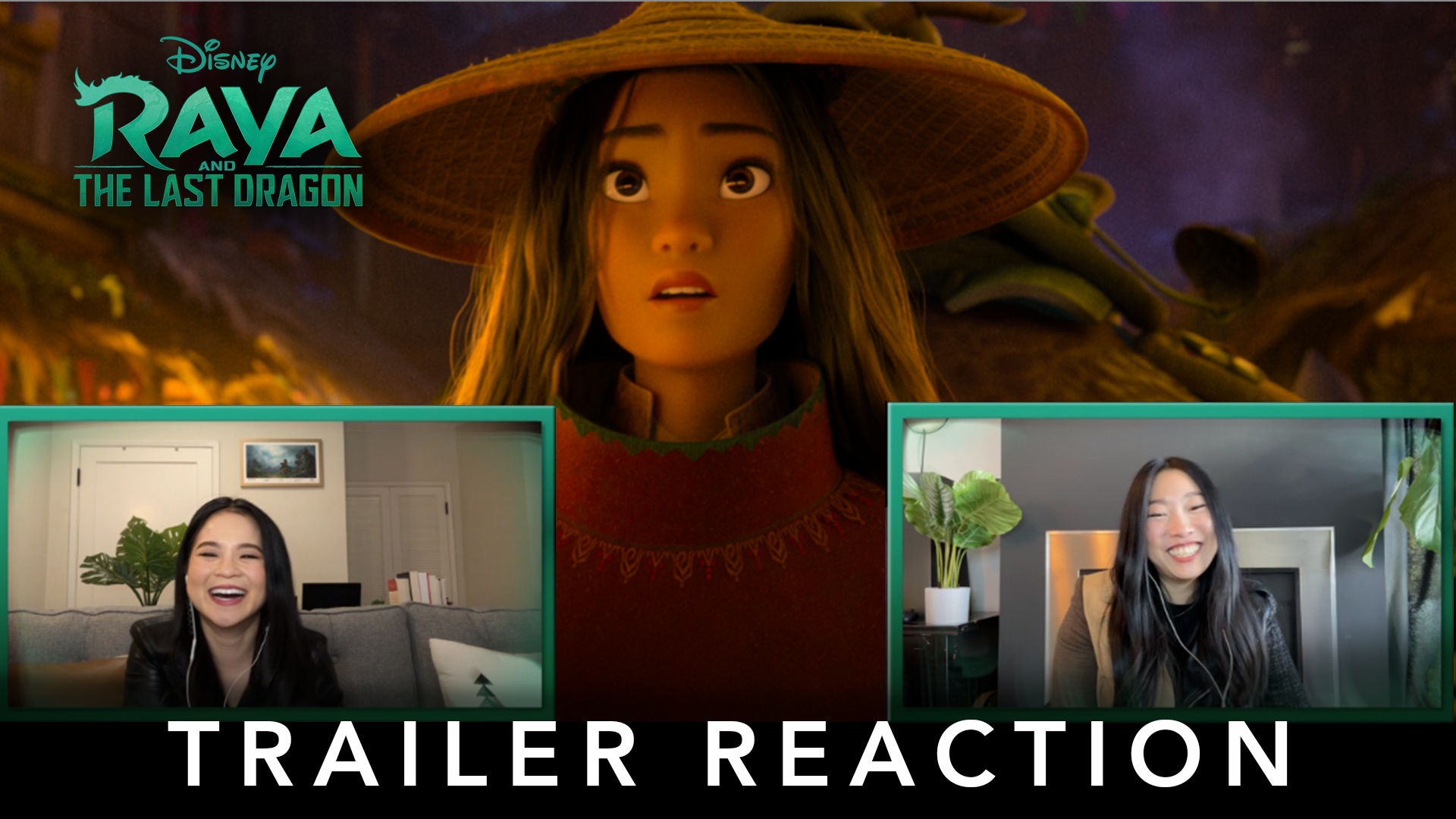 Raya and the Last Dragon | Trailer Reaction