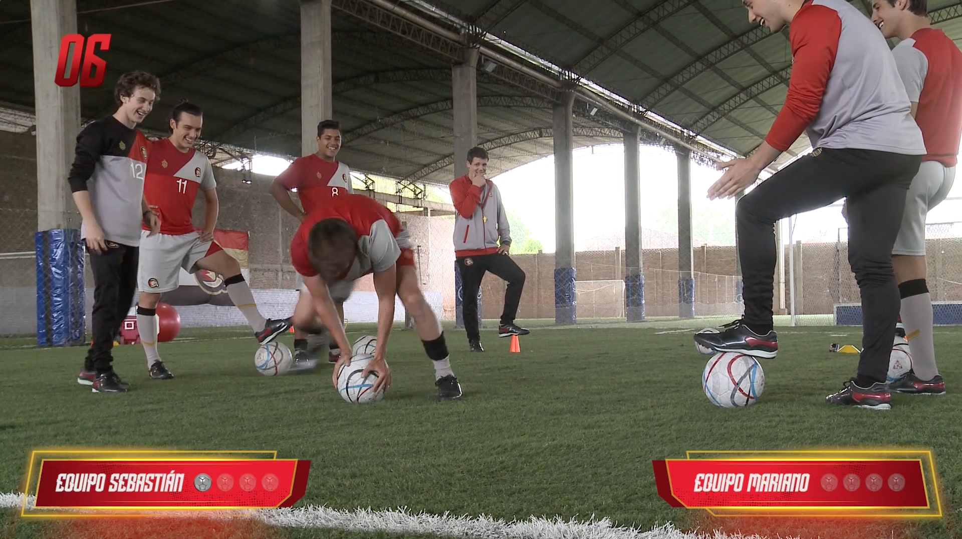 Penales mareados – Equipo Gabo vs. Equipo Lorenzo - O11CE Challenges