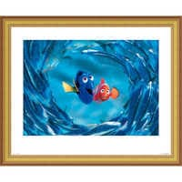 Image of Finding Nemo ''The Moonfish entertain Marlin and Dory'' Giclé # 3