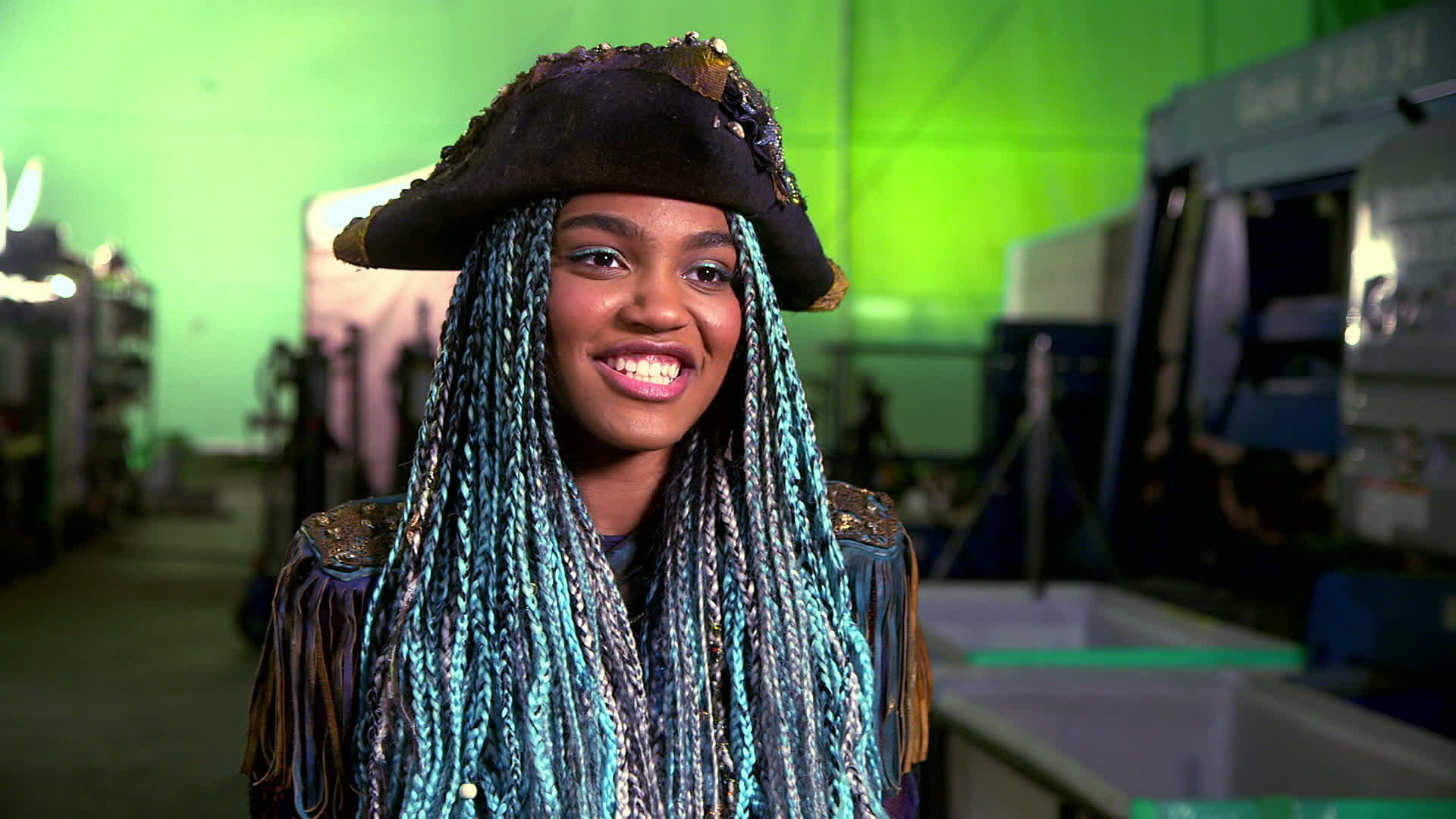 China Anne McClain Interview, Part One