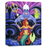 Ariel and Ursula ''The Whisper'' Giclée by Mike Kungl