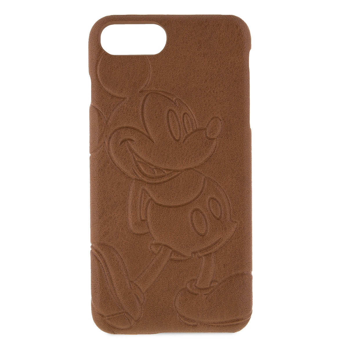 best service 4fbf0 4984e Mickey Mouse Leather iPhone 7/6 Plus Case