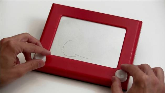 Etch-a-Sketch Lightning McQueen