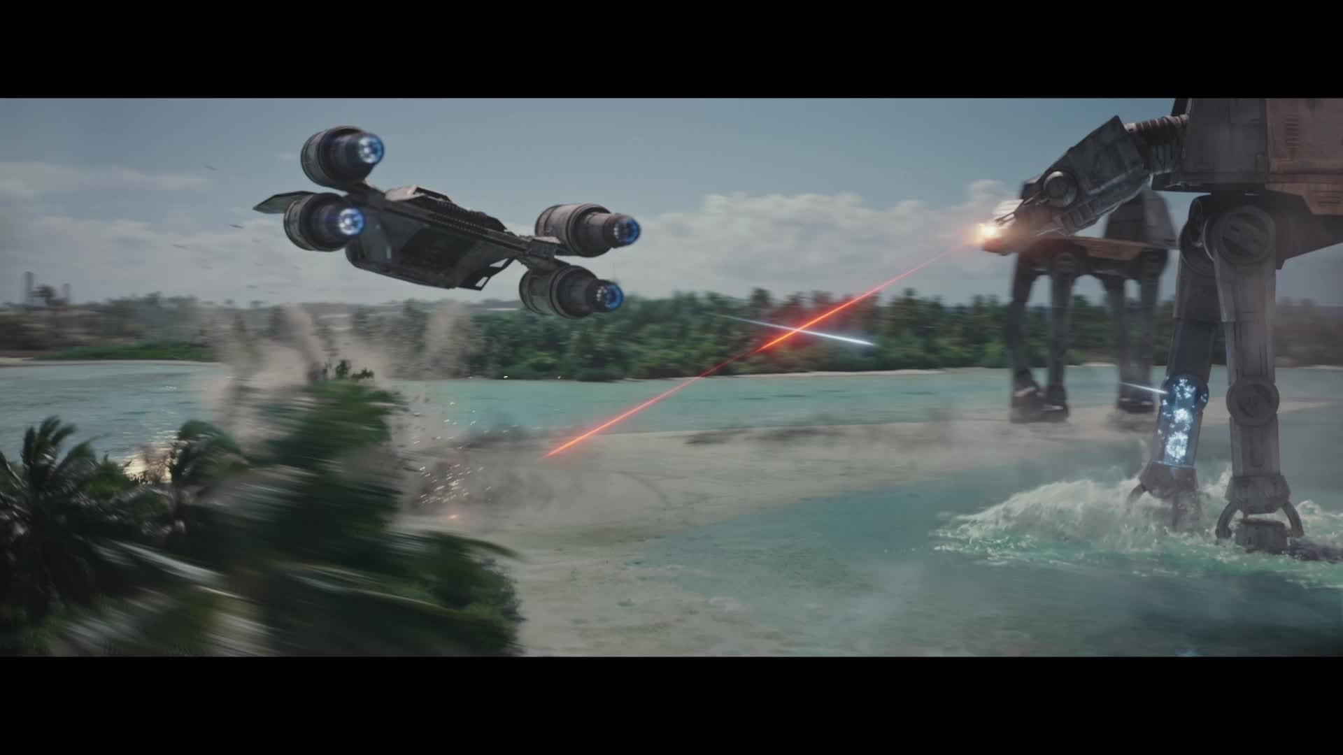 Rogue One : A Star Wars Story - Sur le tournage