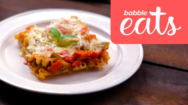 Babble eats around the world italy vegetarian lasagna babble video thumbnail for babble eats around the world italy vegetarian lasagna forumfinder