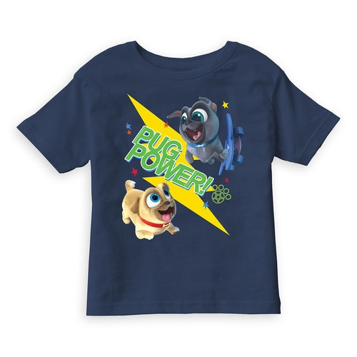 Puppy Dog Pals Pug Power Tee For Kids Customizable