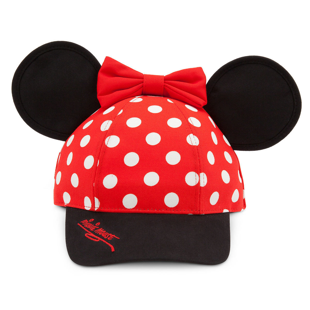 Product Image of Minnie Mouse Baseball Cap for Kids - Walt Disney World   1 83e2f7887f45